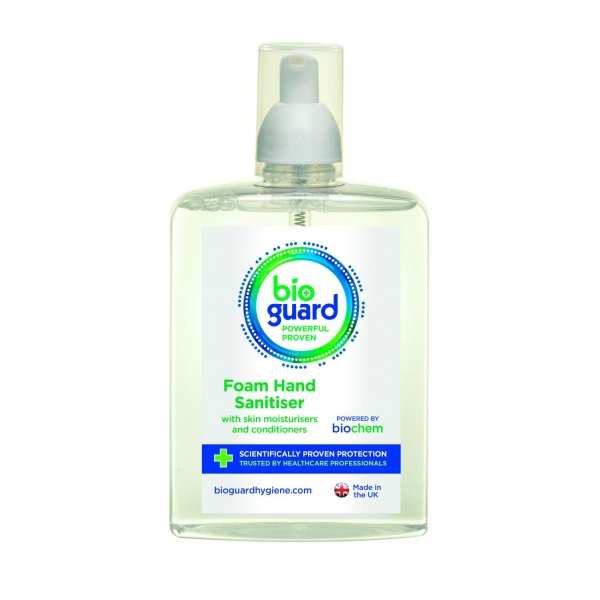Bioguard Large 500ml Hand and Body Foaming Cleanser