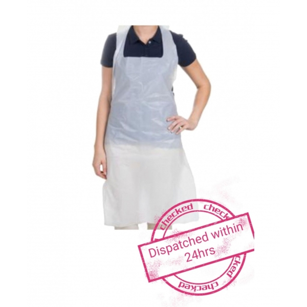 500 Disposable Aprons 16 micron NHS spec